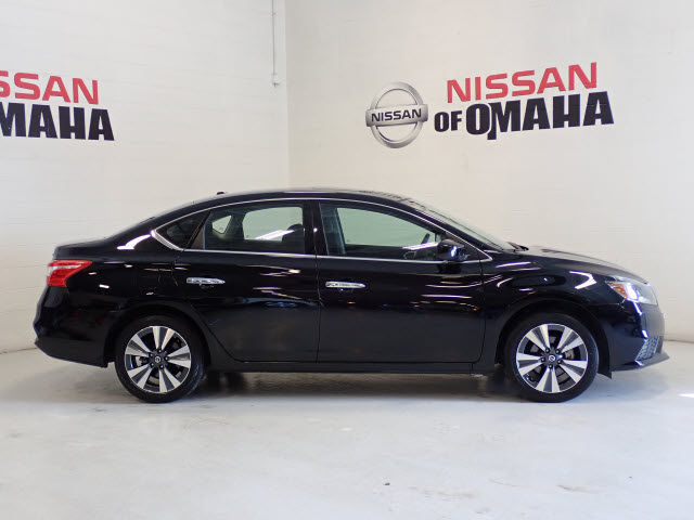 new 2019 nissan sentra sv 4d sedan in omaha #c97412 | nissan of omaha