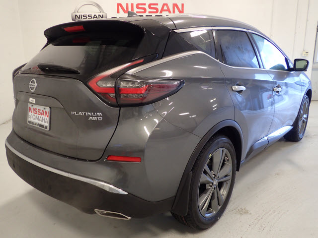 New 2019 Nissan Murano Platinum 4d Sport Utility In Omaha
