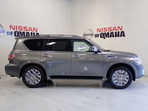 New 2019 Nissan Armada SL With Navigation & 4WD