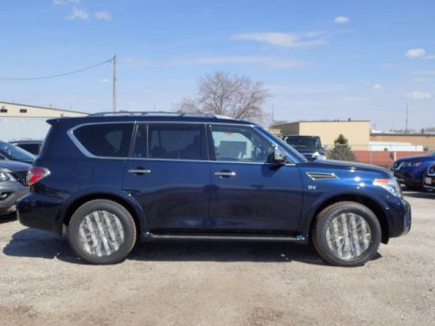 New 2019 Nissan Armada Platinum With Navigation & 4WD